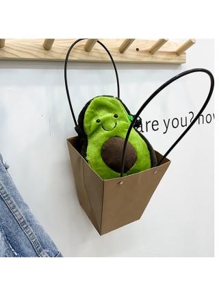 Женская симпатичная сумка через плечо Авокадо