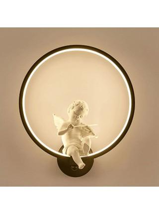 Настенный акриловый светильник бра ангел со скрипкой