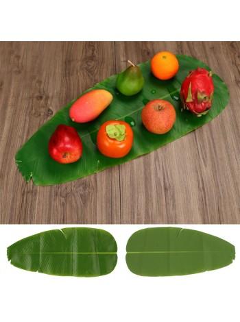 Большой искусственный тропический банановый лист для украшения стола