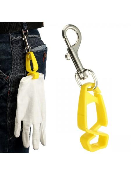 Клипса зажим для ношения перчаток на поясе
