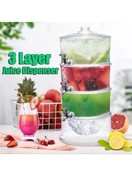 Диспенсер для сока 3-слойный