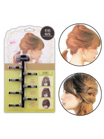 Инструмент заколка для скручивания волос