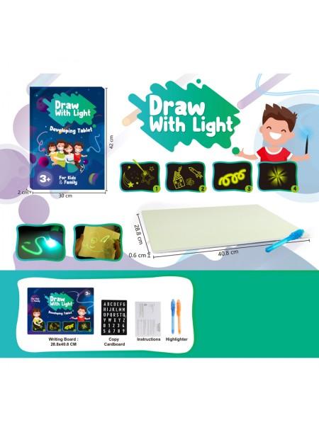 Детская светящаяся 3D доска для рисования