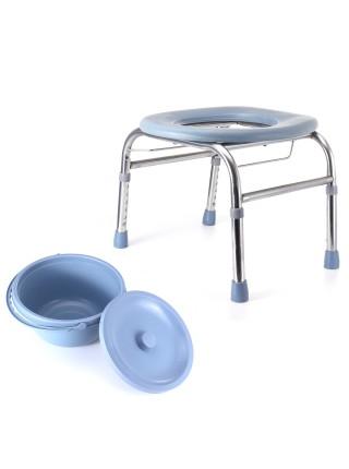 Складной регулируемый стул туалет для пожилых людей