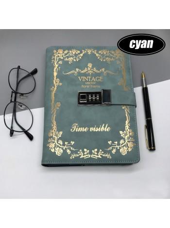 Ежедневник блокнот для записей с кодовым замком