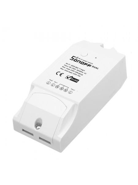 SONOFF двухканальный беспроводной переключатель WiFi
