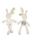 Детская плюшевая игрушка бархатный кролик