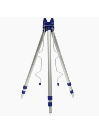 Телескопическая алюминиевая подставка тренога для удочек