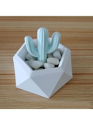 Силиконовая форма для изготовления цветочных горшков