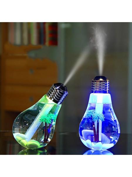 Ультразвуковой USB увлажнитель в форме лампочки