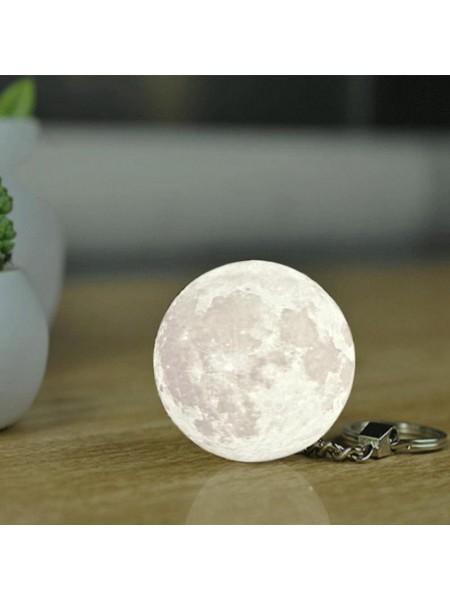 Брелок для ключей светящиеся луна