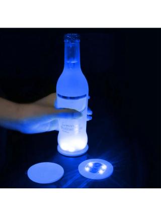 Светящаяся подставка для подсветки бутылок