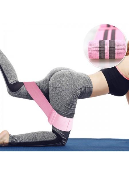 Ленточный фитнес эспандер для тренировки бедер и ягодиц