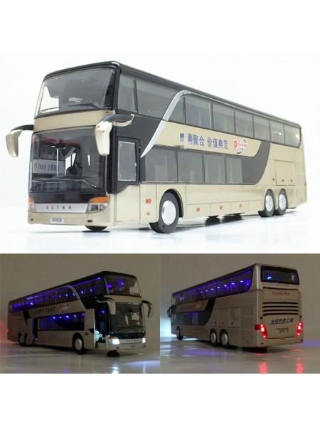 Модель двухэтажного пассажирского рейсового автобуса