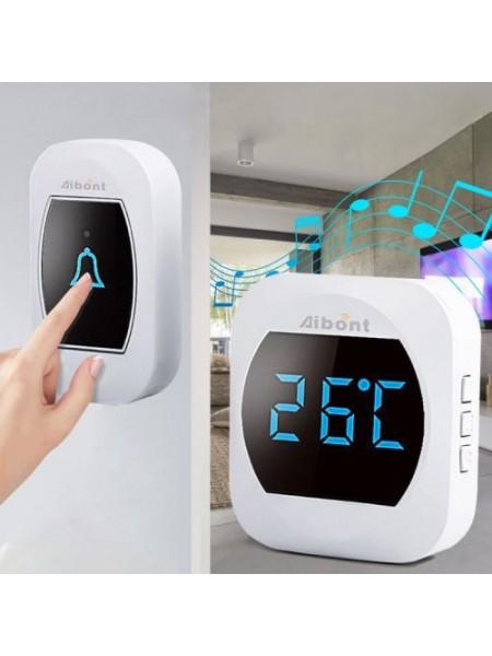Беспроводной дверной звонок с термометром