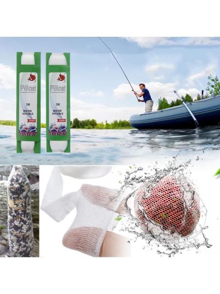 Растворимая ПВА сетка для прикормки рыбы