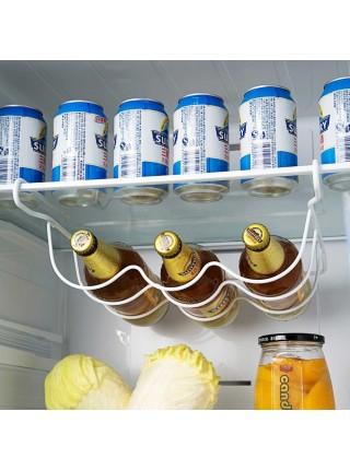 Стеллаж для хранения бутылок пива в холодильнике