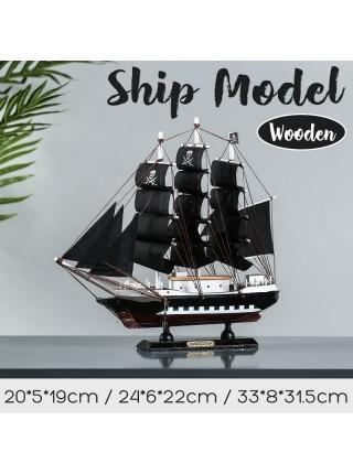 DIY модель парусный пиратский корабль