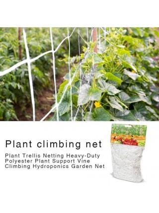 Полиэфирная опорная сетка для восхождения растений