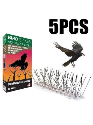 Металлические противоприсадные шипы от птиц (5 шт.)