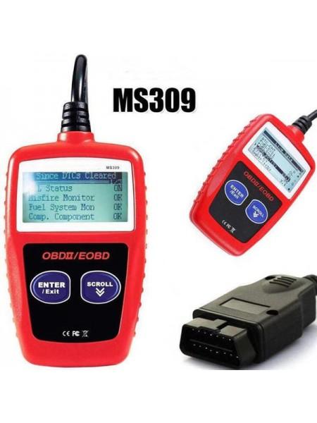 Автосканер MaxiScan MS309 для считывания кодов ошибок