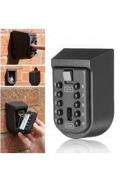 Настенный защитный бокс с кодовым замком для хранения ключей