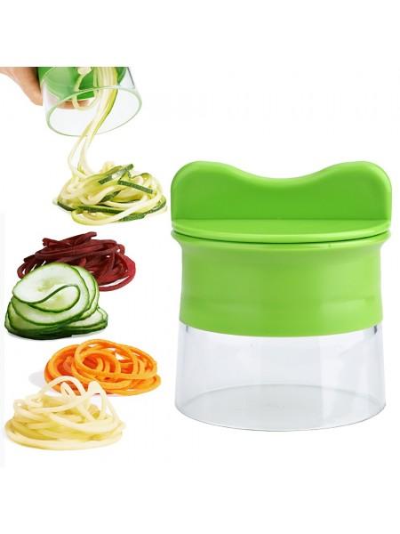 Ручная спиральная терка для овощей