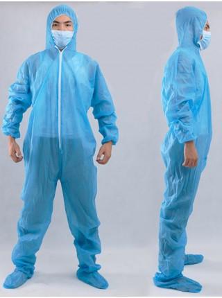 Полноценный защитный костюм из нетканого материала