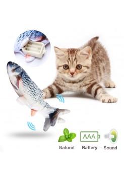 Электронная игрушка живая рыбка для кошки