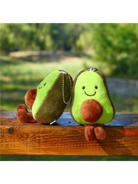 Плюшевый брелок игрушка авокадо