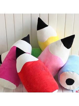 Творческая плюшевая подушка в форме карандаша