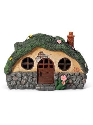 Декоративный солнечный шотландский домик