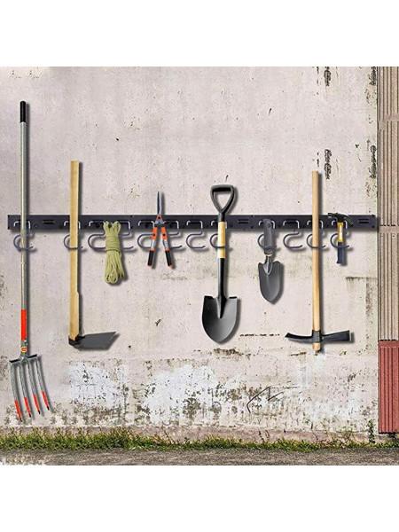 Регулируемая система хранения садовых инструментов