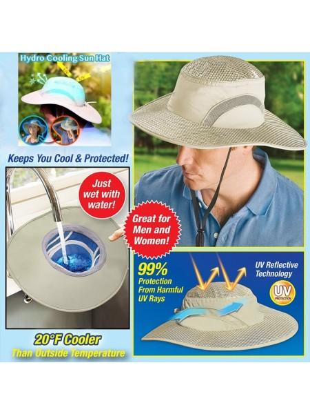 Солнцезащитная охлаждающая шляпа