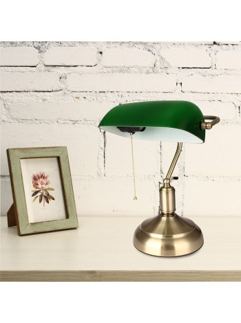 Настольная ретро лампа для офиса