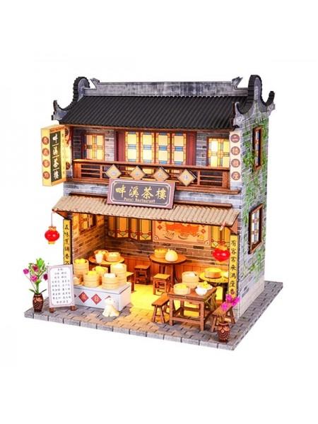 Кукольный домик китайская чайхана