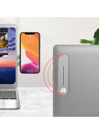 Боковой держатель телефона с магнитным креплением для ноутбука
