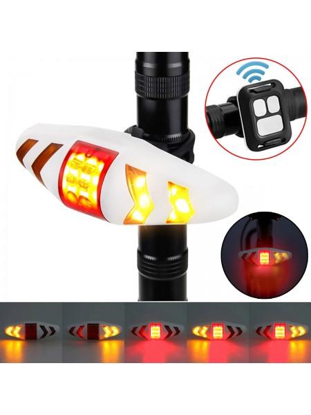 Велосипедный задний фонарь с поворотными сигналами
