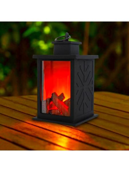 Светодиодный подвесной светильник лампа камин