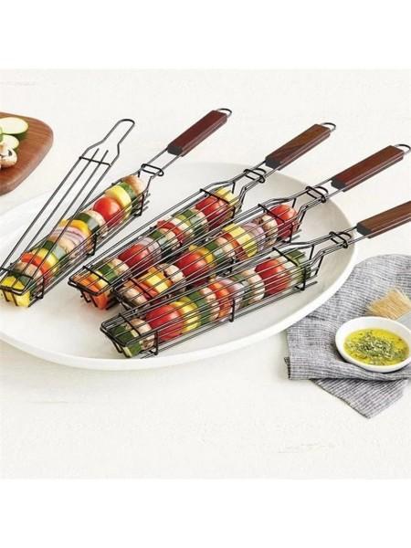 Решетка с ручкой для гриля и барбекю