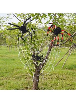 Светодиодная паутина для Хэллоуина