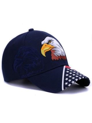 Бейсболка кепка с американским флагом