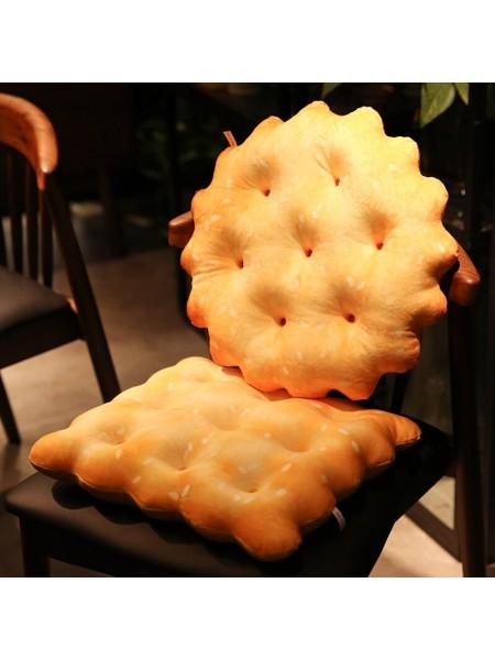 Плюшевая подушка печенька