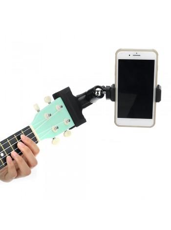 Мобильный зажим держатель для гитары