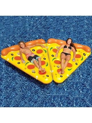 Надувной плавательный матрас пицца