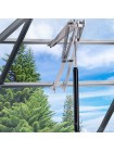Автоматический оконный открыватель для проветривания и вентиляции теплиц