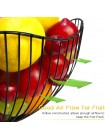 Корзина для фруктов из металла
