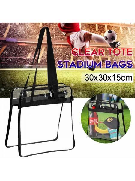 Прозрачная сумка для посещения стадиона