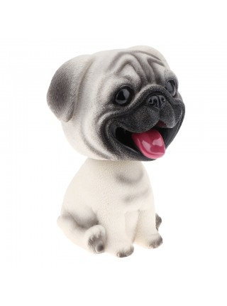 Фигурка из смолы для украшения «Собака Мопс»