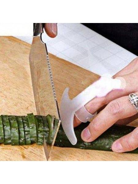 Прозрачный ремешок для защиты пальцев при нарезке продуктов